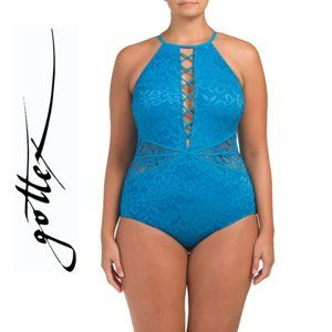 NWT PROFILE BY GOTTEX Plus Shalimar Swimsuit